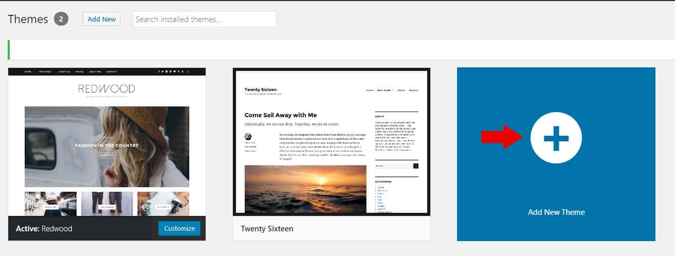 Picking a Theme for your Blog
