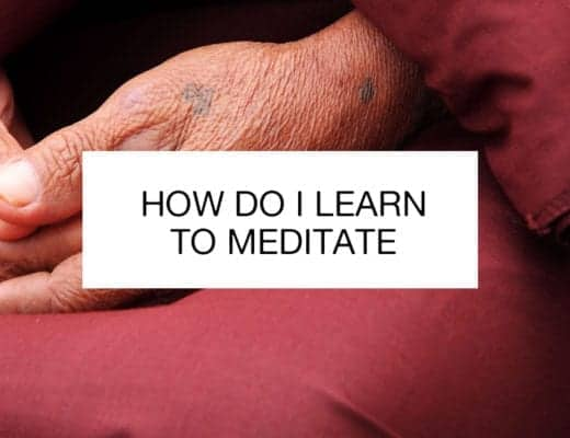 how do i learn to meditate