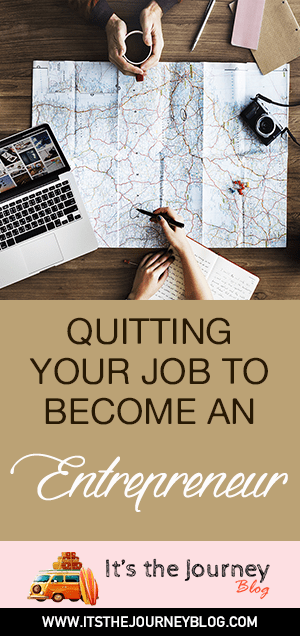 quitting your job to become an entreprenuer