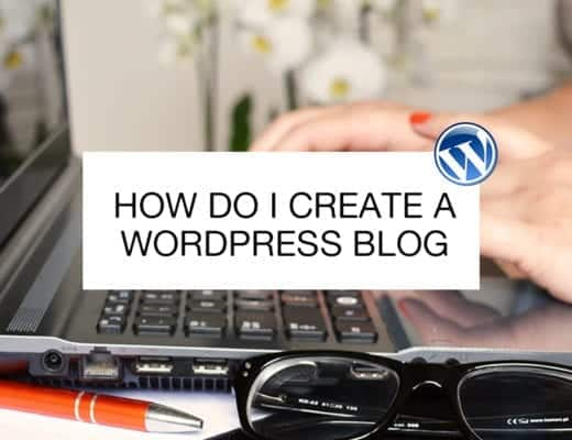 how do i create a wordpress blog