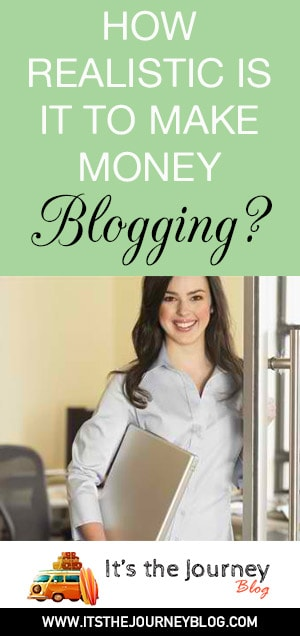 How realistic is it to make money blogging